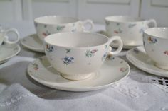 Vintage Harmony House Monticello Cup and Saucer by PanchosPorch