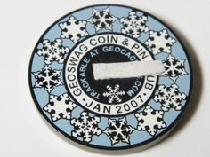 """""""FTF DANCE""""  Winter Style 2007 Geocoin coin Activated&adoptable in Sporting Goods, Outdoor Sports, Geocaching, Geocoins 