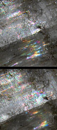 RAINBOW Clear Quartz Elestial #pixiecrystals