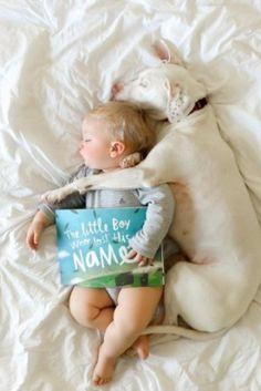 Κακοποιημένος σκύλος φοβάται τους πάντες εκτός από αυτό το μωράκι. Το instagram αποδεικνύει την υπέροχη σχέση τους