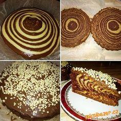 Zebra koláč/buchta trochu jinak-jednoduše ;)