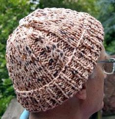 Four Cable Hat Knitting Pattern/ Size 11 (8 mm) straight needles or size needed to obtain gauge Puffin by Crystal Palace Yarns  2 balls Color #0205 Pinto Pony 100% polyester fleece 50 grams/1.75 ounces 84 yards/77 meters
