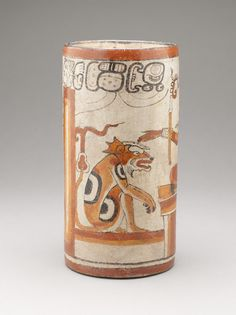 Vessel with Supernatural Palace Scene | LACMA Collections