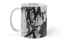 """""""Bamboo and Rock"""" Mugs by aplcollections   Redbubble"""
