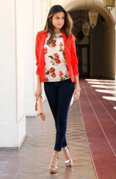 dde2d1910f DailyLook  Sweet Floral Surrender Look by Casting LA and Sneak Peek Smart  Casual Outfit