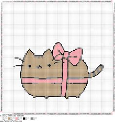 Pusheen The Cat Pink Lace by Nenetchy on DeviantArt