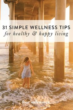 31 simple wellness tips for healthy & happy living // Simple, easy ways to live a healthy lifestyle: nutrition, fitness, mindset, relationship & nontoxic product tips & recommendations Nutrition Education, Sport Nutrition, Complete Nutrition, Nutrition Activities, Healthy Lifestyle Tips, Healthy Living Tips, Healthy Habits, Healthy Recipes, Wellness Tips