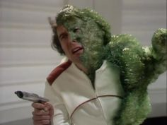 The Ark in Space, 1975, Tom Baker, The fourth doctor, Doctor Who...aka attack of the green bubble wrap