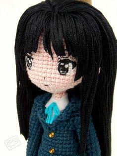 Amigurumi doll.