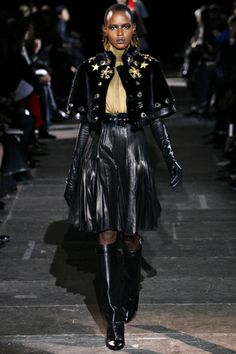 Ajak Deng Photos Fall 2012 Ready-to-Wear Givenchy - Runway on Style.com