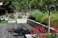 deck/landscaping ideas for sloped yard