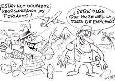 Coincidencias   Caricatura de Roque