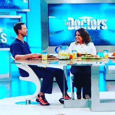 Chef Nourish's own Chef LaLa on THE DOCTORS talking about healthy meals inclu...