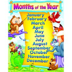 CHART MONTHS OF THE YEAR