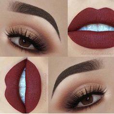35 Ideen Make-up Looks Lidschatten Lippenfarben - Prom Makeup For Brown Eyes Day Eye Makeup, Shimmer Eye Makeup, Eye Makeup Steps, Skin Makeup, Eyeshadow Makeup, Beauty Makeup, Eyeliner, Makeup Tips, Makeup Ideas