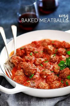 These Easy Baked Mea