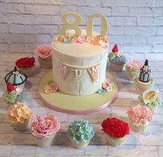 Garden Cake & Cupcakes