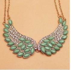 Glitter Angel Necklace. Bring some bling to your spiritual style!