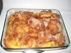 I can make it ahead AND have a delicious breakfast?  Sold.  {overnight french toast}