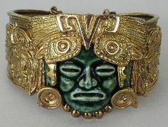 Aztec Mayan Design Bracelet Marbel Salvador Teran