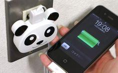 Strapya World : USB Panda AC Adaptor