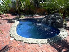 Blue Hawaiian Fibergl Pools July S Pool Of The Month Prices Small
