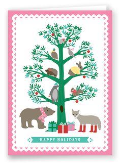 Christmas Card   Folded Words
