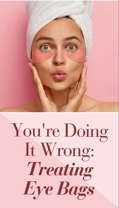 Dermatologists agree that cleansing the wrong way, or rubbing too hard at the delicate under-eye area, worsens dark circles. Visit SheFinds for more. Beauty Makeup Tips, Beauty Advice, Under Eye Bags, Drugstore Makeup, All Things Beauty, Cosmetology, Skin Makeup, Skin Care Tips, Makeup Looks