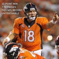 Peyton Manning had an UNTOUCHABLE start to the season, leading Denver to a 49-27 win over the defending champs in record fashion.