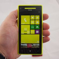Looks familiar? HTC why do you copy nokia? This looks just like the nokia lumia lineup. Well at least they don't have the features of the lumia 920 :)