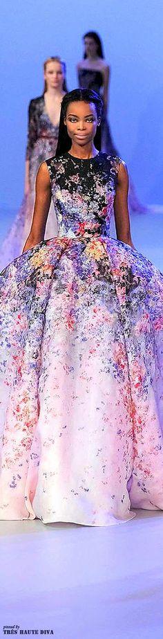 unique dresses,unique dress,Elie Saab Spring 201