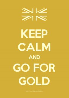 My British genes are truly proud tonight.  Let the games begin! Stay calm and go for the GOLD! 7/27/12