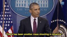 President Obama after Oregon shooting