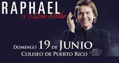 Raphael: En Su Gran Noche #sondeaquipr #raphael #ensugrannoche #coliseopr #choliseo #sanjuan