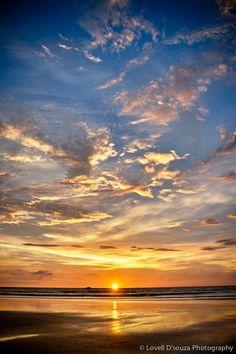 Sunset at Gokarna #BackpackIndia #goMowgli