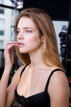 Natalia Vodianova-I want my hair to flow like this someday...