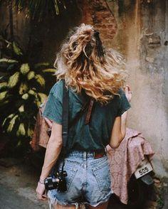 wanderlust photography camera vintage jeans denim