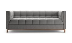 Stowe Leather Loveseat