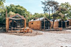Prefab Cottages, Community Housing, Tree House Designs, Tiny House Cabin, Container House Design, Camping Glamping, Cabin Design, Travel And Leisure, Little Houses