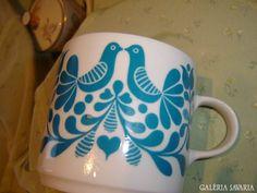Alföldi madaras bögre Teacups, Tea Pots, Retro Vintage, Plates, Mugs, Coffee, Tableware, Kitchen, Color