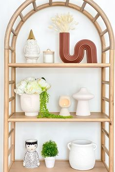 Create the perfect shelfie with a few bold pieces. Try this ceramic maroon squiggle vase with your favorite dried florals, like white dried bunny tails. Shop this look by @thehomeinvogue at Afloral.com. Fake Hydrangeas, Hydrangea Flower, Fake Flowers, Dried Flowers, Dried Flower Arrangements, Vase Arrangements, Fall Wedding Flowers, Flower Bouquet Wedding, Fall Home Decor