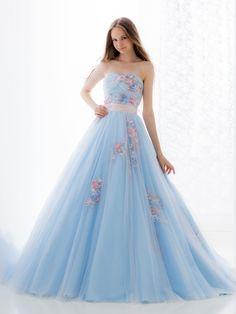 Pretty Prom Dresses, Blue Wedding Dresses, Stunning Dresses, Ball Dresses, Homecoming Dresses, Cute Dresses, Evening Dresses, Girls Dresses, Princess Ball Gowns