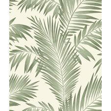 Tropical Palm Tree Wallpaper White Green Leaves Leaf Luxury Heavyweight x 3 Tree Wallpaper White, Quirky Wallpaper, Palm Leaf Wallpaper, Tropical Wallpaper, Contemporary Wallpaper, Green Wallpaper, Wallpaper Backgrounds, Iphone Wallpaper, Pattern Wallpaper