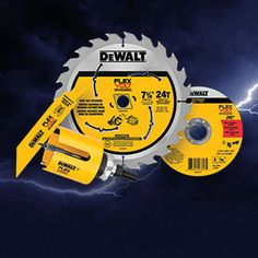From hole saws to grinding wheels, DEWALT offers a full line of power tool accessories that allow you to get more cuts per charge. Dewalt Tools, Power Tool Accessories, Work Tools, Garage Design, Diy Tools, Power Tools, Diy Projects, Tools, Electrical Tools