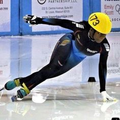 e3f4fc263fd Maame Biney become first black woman to qualify for the U. speedskating  team