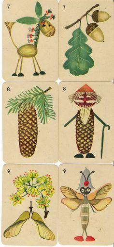 From a deck of cards, Garaż ilustracji książkowych: Karciany Piotruś - Robimy zabawki - Hanna Krajnik