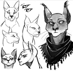 Someday I won't struggle with drawing Khajiit (and other beast races for that matter)