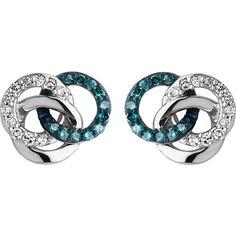 LINKS OF LONDON 宝 银 和 钻石 饰钉 耳环. #linksoflondon Diamond Jewelry, Diamond Stud, Diamond Earrings, Silver Jewelry, Stud Earrings, Butterfly Earrings, Circle Earrings, Links Of London, Silver Diamonds