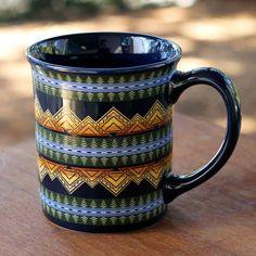 Pendleton American Treasures Mug – Stash Tea Cheyenne Warrior, Native American Design, Kitchen Colors, Comfort Zone, Tea, Mugs, Tableware, Eagle, Gifts