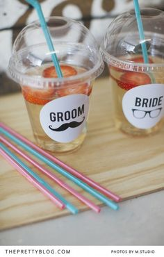 If you're planning a hipster wedding then you'll absolutely adore these bride and groom printables we're sharing with you today. Having welcome drinks at y Hipster Wedding, Quirky Wedding, Cute Wedding Ideas, Our Wedding, Dream Wedding, Hipster Party, Wedding Styles, Wedding Stuff, Diy Wedding Decorations